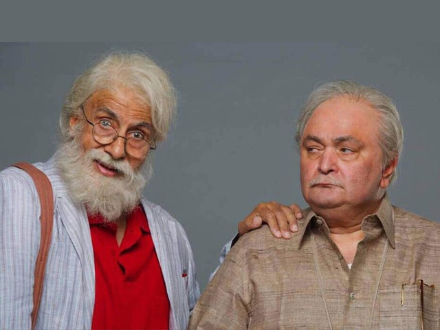 Bachchan, Rishi Kapoor back on-screen with '102 Not Out'