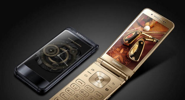 Samsung working on a mysterious high-end flip phone