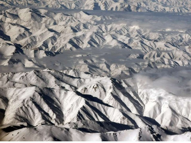 Hindu Kush. PHOTO: AFP
