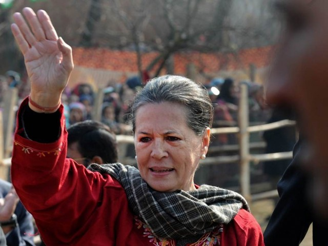 Kashmir crisis, a 'colossal failure' of Modi government: Sonia