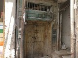 A view of the dilapidated condition of Dillip Kumar's house. PHOTO:EXPRESS