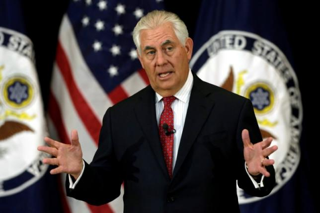 file-photo-u-s-secretary-of-state-rex-tillerson-delivers-remarks-to-the-employees-at-the-state-department-in-washington-2-2