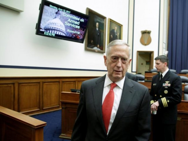 US 'not winning' in Afghanistan, Mattis tells Congress