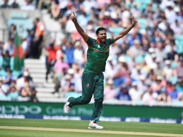 COMING OF AGE: Mortaza's side only started believing in their chances after impressive displays in New Zealand, India, Sri Lanka and Ireland in the past few months. PHOTO: AFP