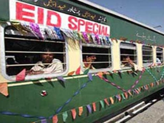 Special EID trains PHOTO: Radio Pakistan