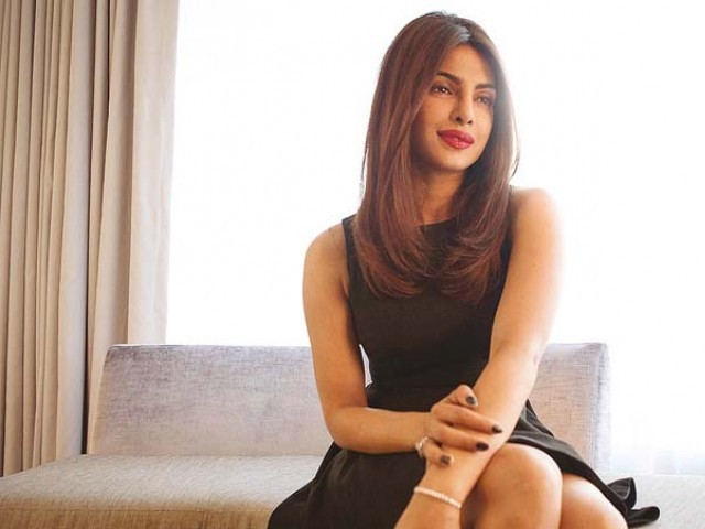 Priyanka placed No.1 on Top Actors chart