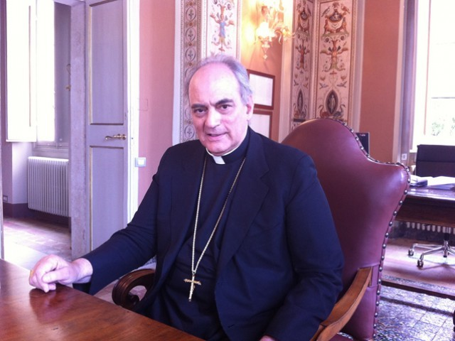 Bishop Marcelo Sanchez Sorondo, head of the Pontifical Academy of Sciences trump's decision would undermine US economy. PHOTO COURTESY: FLICKR