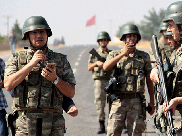 A file photo of Turkish soldiers. PHOTO: REUTERS