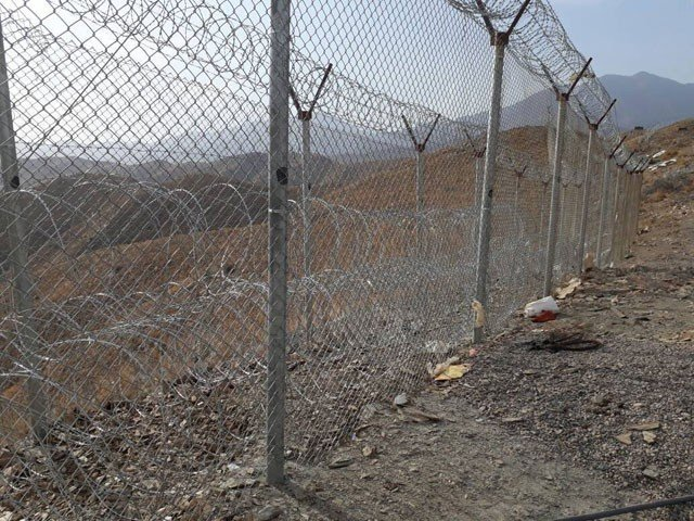 Fencing of Pak-Afghan border commened: ISPR
