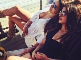 "Priyanka Chopra ""summertime twinning"" with  filmmaker Mubina Rattonsey. PHOTO: Instagram"