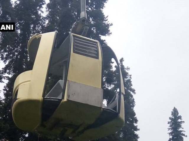 Cable car crashes in tourist resort in Kashmir, killing 5