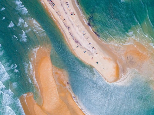 New Island Appears Off North Carolina Coast