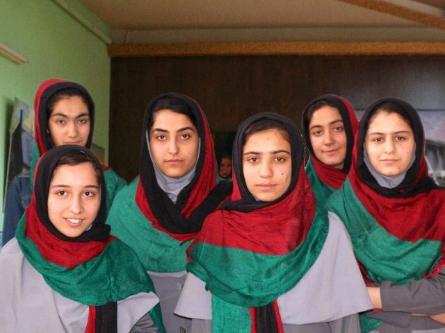 Team Afghanistan. PHOTO: FIRST GLOBAL