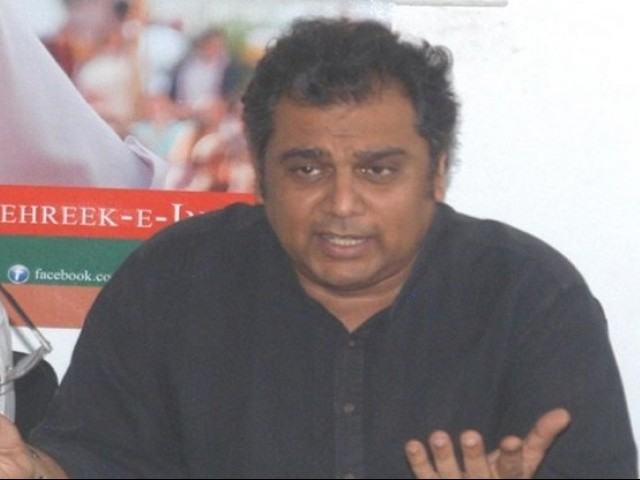 PTI leader Ali Haider Zaidi. PHOTO: NNI