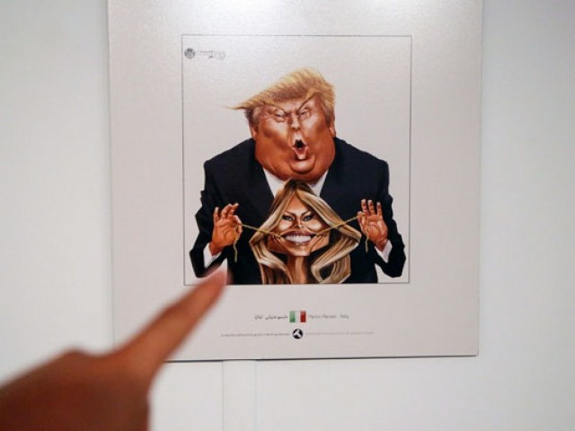 Iran holds Donald Trump cartoon contest