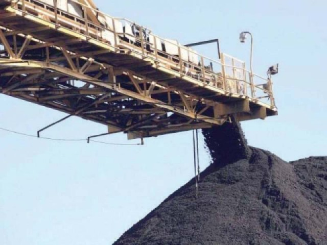 Demand for coal is set to go up with several imported coal-fired power plants due to come online, according to an independent expert on ports. PHOTO: APP