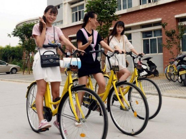Alibaba Takes a Spin in China's Growing Bike-Sharing Economy
