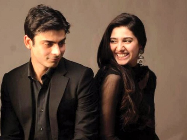 Fawad Khan and Mahira Khan. PHOTO: FILE