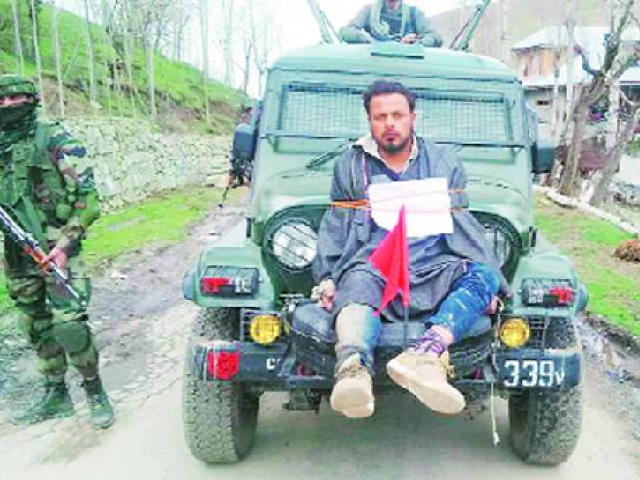 Human shield case: govt directed to pay Rs 10L