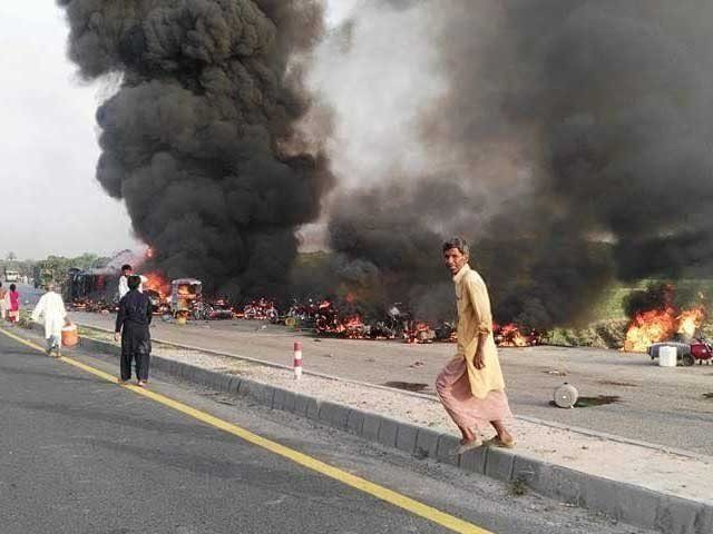 OGRA had held Shell Pakistan responsible for the worst accidents in the country's history. PHOTO: EXPRESS
