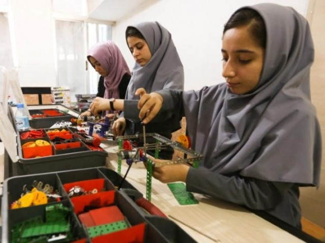 In reversal, Afghan girls will be allowed into USA for robotics competition