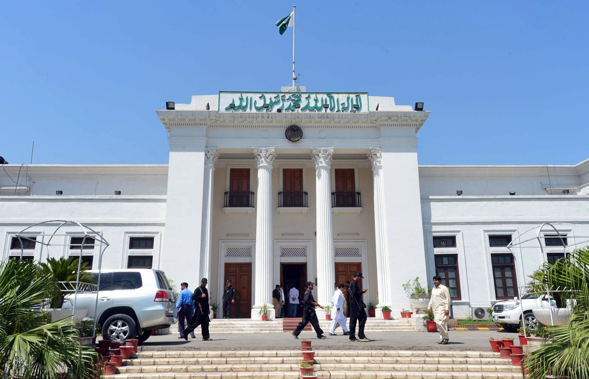 pml n resolutions demand k p speaker fm resignations