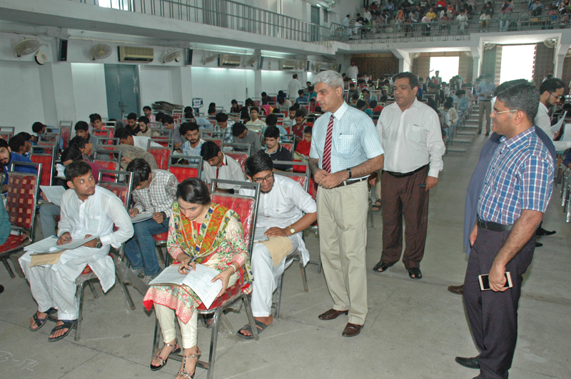 43 000 candidates appear for admission tests across punjab