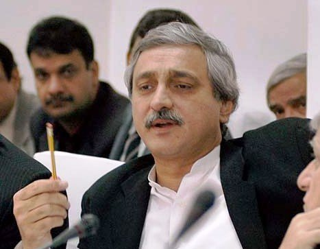 PTI General Secretary Jahangir Tareen issued a notification announcing the names of the IDF president and general secretary. PHOTO: APP