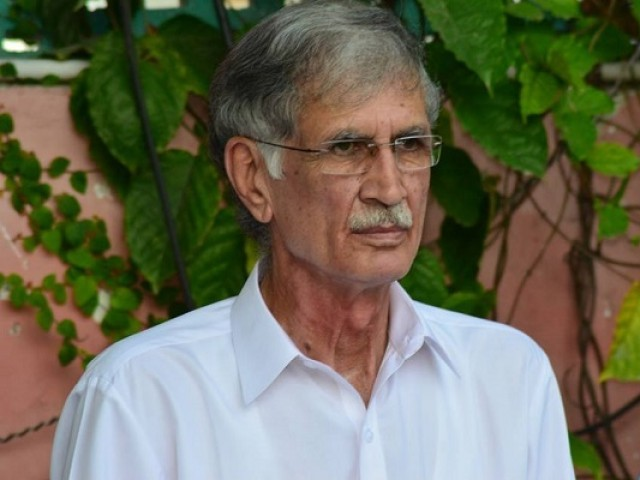 Pervaiz Khattak underlines the need for ensuring adequate facilities of security, health, hygiene and other civic amenities under safe city and small city policies of the provincial government. PHOTO: INP