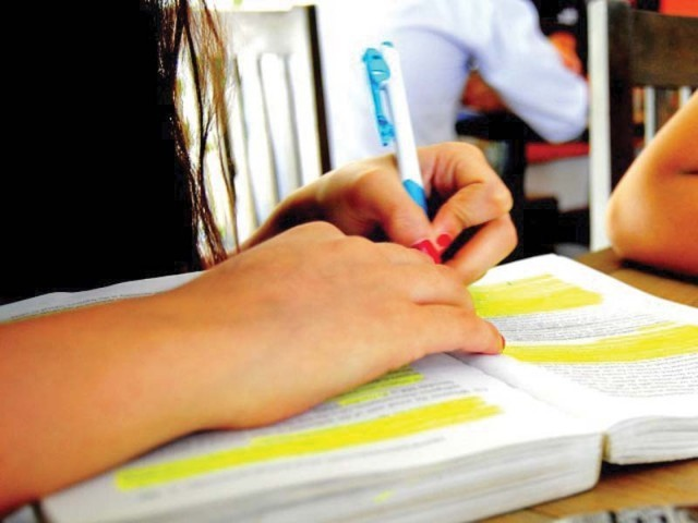 Registrations for entrance tests for public and private medical and dental college of K-P have been completed. PHOTO: FILE