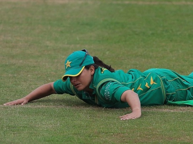Down and out: Sana may be stripped of the captaincy that she has had for the past nine years. PHOTO COURTESY: ICC
