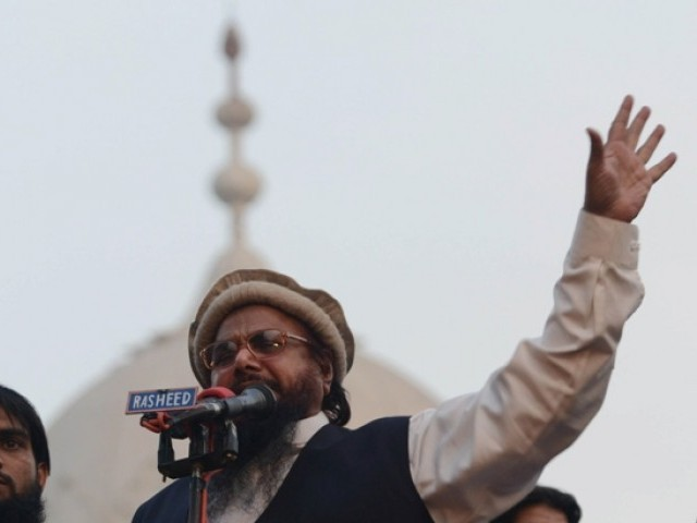 Jamaatud Dawa (JuD) chief Hafiz Muhammad Saeed. PHOTO: AFP / FILE