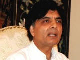 Federal Interior Minister Chaudry Nisar Ali Khan. PHOTO: EXPRESS