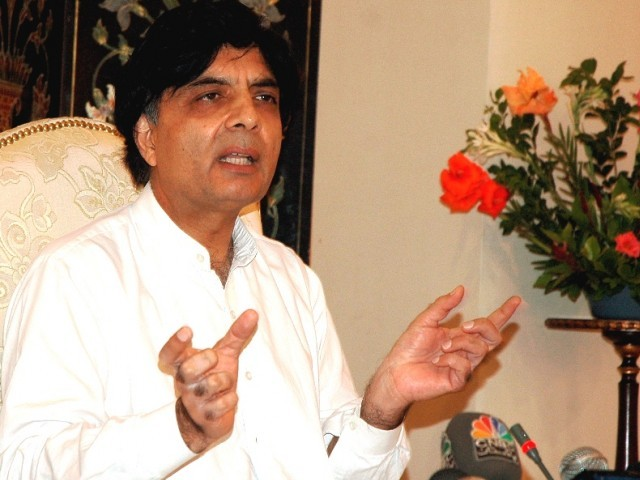 'Severe backache' forces Nisar to postpone crucial presser for a day