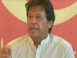 PTI chief Imran Khan. Express/Screengrab