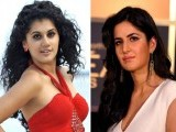 Taapsee Pannu and Katrina Kaif. PHOTOS: File