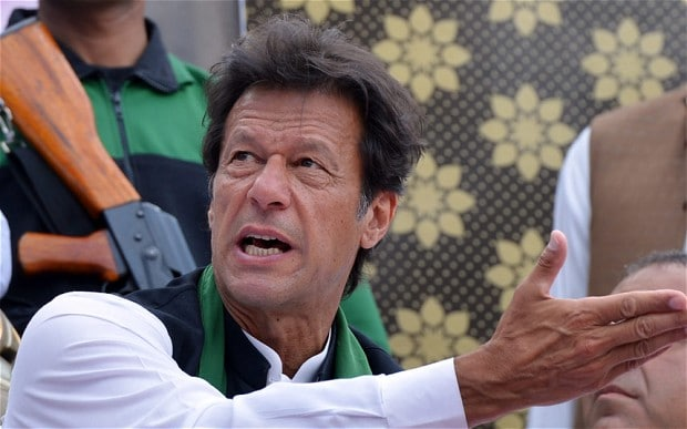 PTI chairman Imran Khan. PHOTO: AFP/FILE