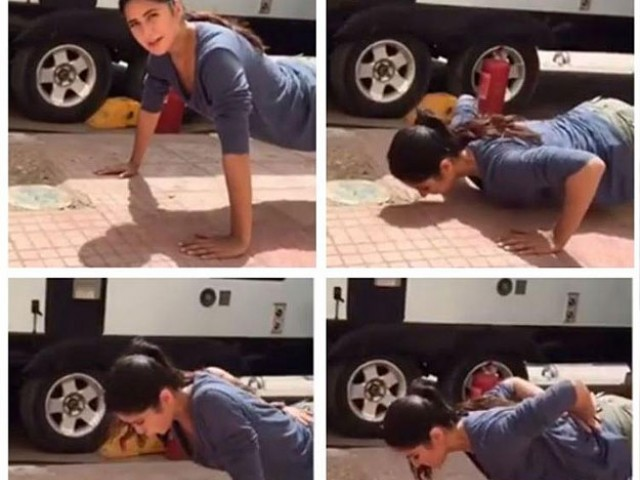 Katrina Kaif nailing push-ups will give you major fitness goals!