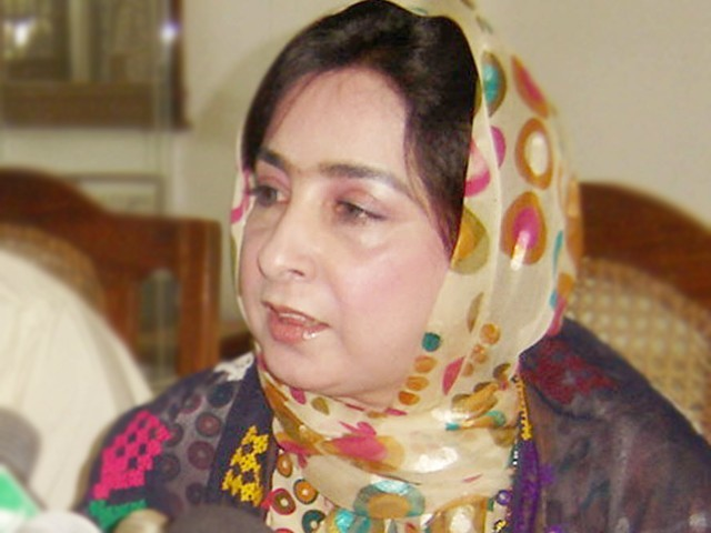 Raheela Magsi. PHOTO: Express/File