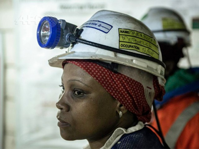 South Africa mine suspends over 50 women who refused to strip  2a27c3dac71