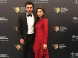 Mahira Khan and Ranbir Kapoor attend the Global Teacher Prize ceremony in Dubai. PHOTO: PUBLICITY