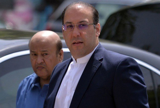 Hasan Nawaz. PHOTO: AFP