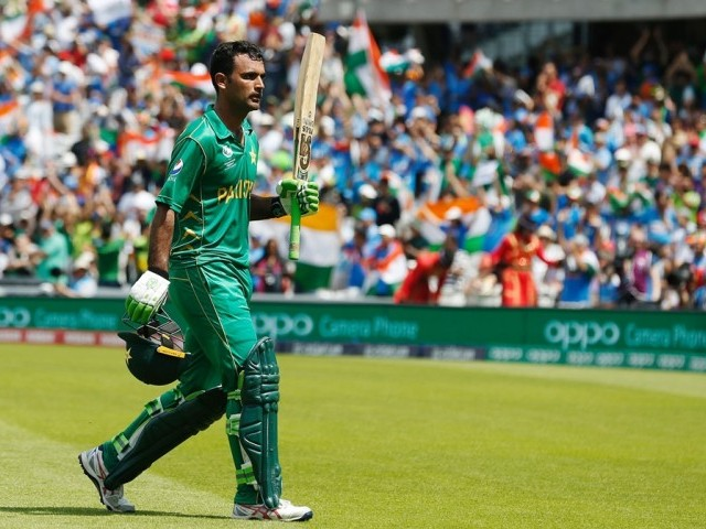 Fakhar Zaman will replace injured Corey Anderson for Somerset. PHOTO: AFP