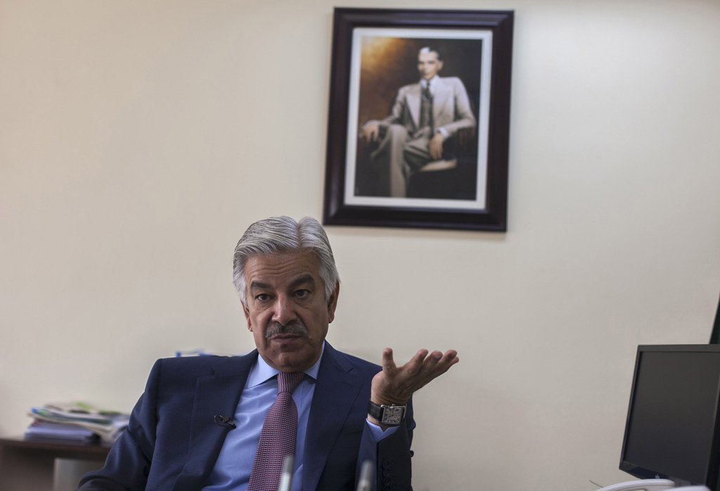 Peace in India and Pakistan is related to Kashmir: Khawaja Asif