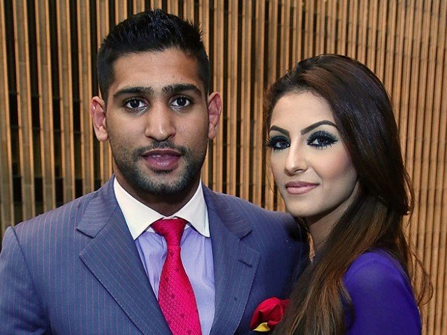 Boxer Amir Khan accuses wife of cheating