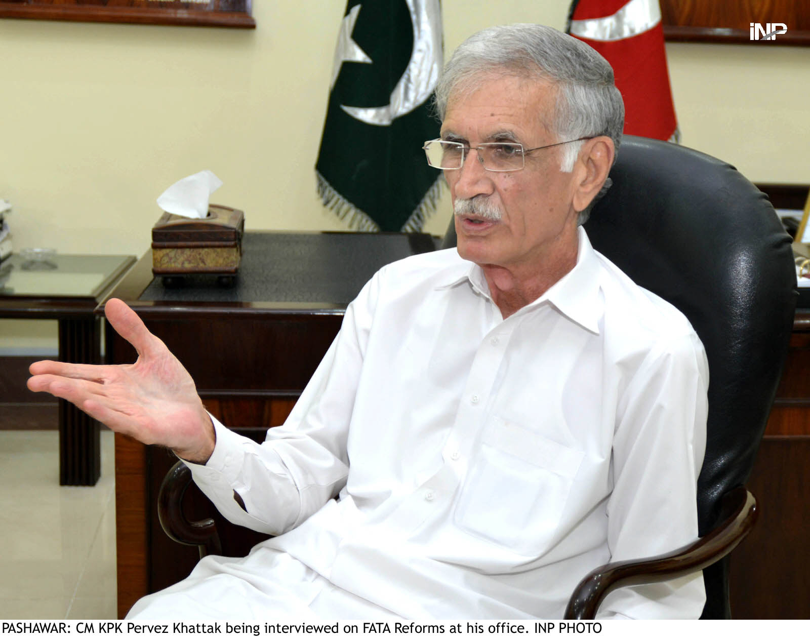KP's coffers grown under weight