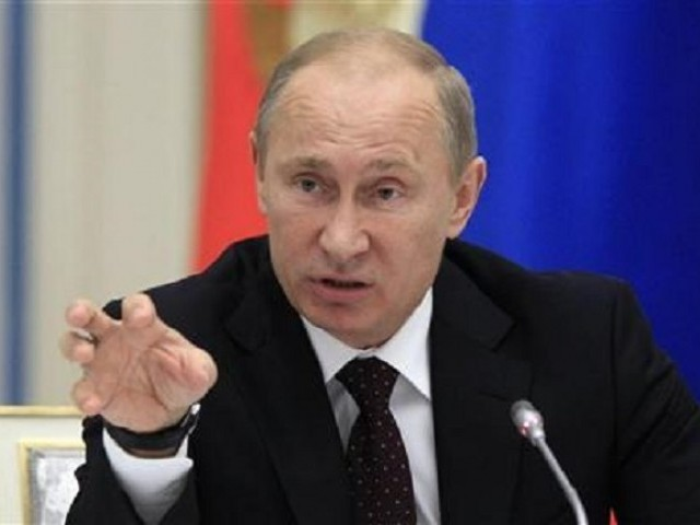 Russia's President Putin. PHOTO: REUTERS