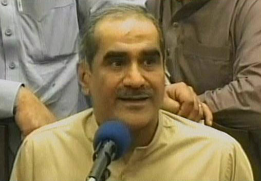 Do not intend to pressurise any state institution, Saad Rafique