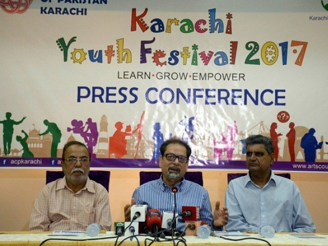 The Arts Council president said a team of trained experts and professionals will visit 100 schools and colleges under this programme. PHOTO: MOHAMMAD AZEEM/EXPRESS
