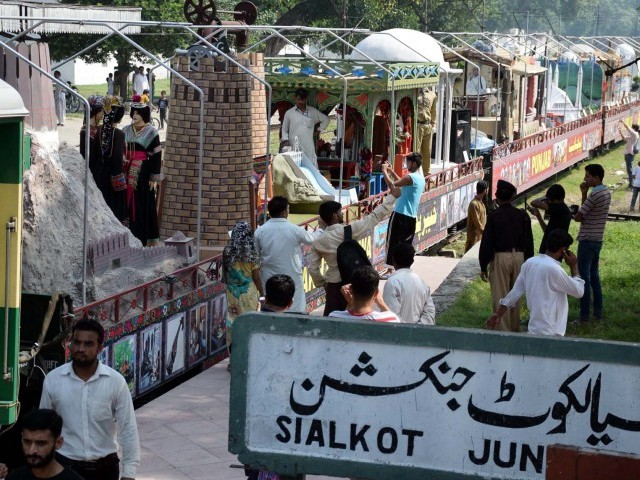Azadi train begins countrywide journey